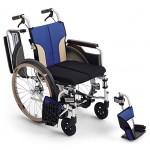 自走用車椅子 とまっティSKT-400B ブレーキかけ忘れサポート転倒防止