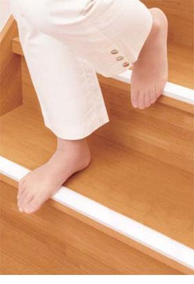 階段すべり止め ホワイトスベラーズ屋内用 14本入り【新着商品】