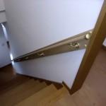 バリアフリーリフォーム・階段手すりの取付をいたしました