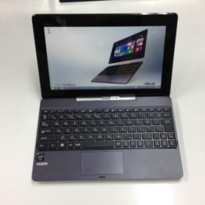 ノートパソコンを導入しました。ASUS TransBook T100TA-DK564G