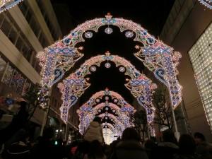 2012年の神戸ルミナリエで、その2