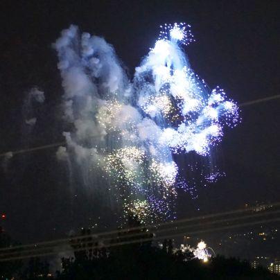 猪名川花火大会の花火