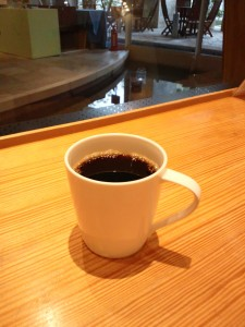 普通のブレンドコーヒーです