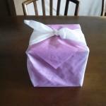 庄谷のお菓子『和心』の包み紙の様子・全景