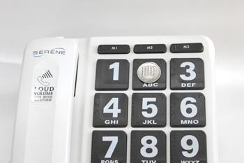 難聴者・高齢者用電話機 ジャンボプラス HD60J