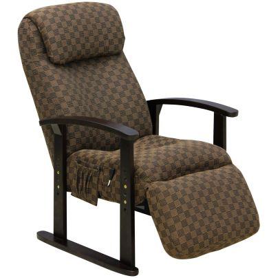 ボリューム高座椅子 VT-300 リクライニング・オットマン付き