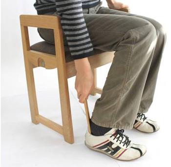 玄関スツール靴ベラ付きK-3型期間限定セール中!