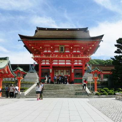 伏見のお稲荷さんに学ぶ日本国内第一位