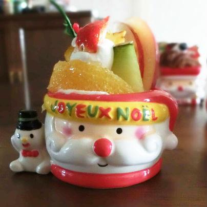 いただきます。メリークリスマス