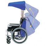 車椅子の暑さ対策に!車椅子の日傘「涼風」