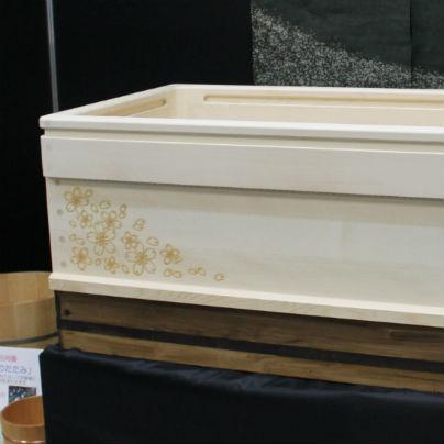 大阪勧業展2014に木製介護浴槽を展示します。