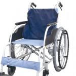 暑さ対策に!車椅子の背中を冷やすひんやり背もたれシート