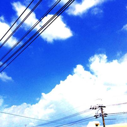 良い天気です!