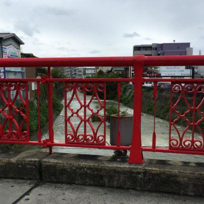 箕面川橋の上から南方を見た様子