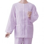 春夏用ガーゼ素材の介護パジャマ