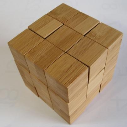 竹の集成材で脳トレ