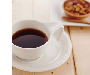 森修焼(しんしゅうやき) スタッキングコーヒーセットに煎れた珈琲