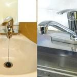 シンクレバーを混合水栓は握力の落ちた方でも楽に使えます