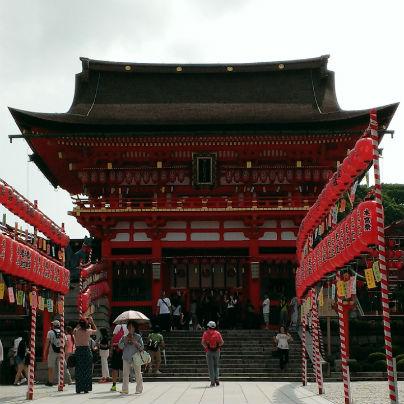 伏見稲荷大社と祇園祭の大船鉾