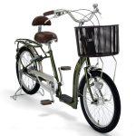 高齢者のための二輪自転車
