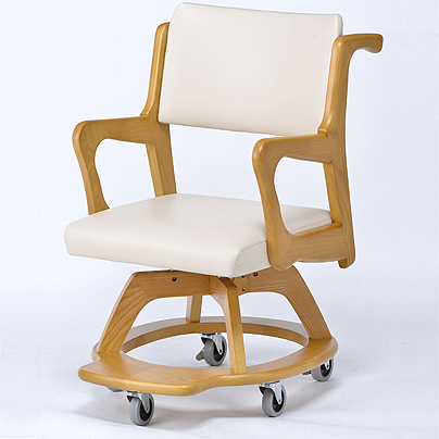 室内用車椅子 WC-S301-IN 座面回転椅子