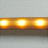 LED照明I型手すり 400 光る手すり 電池式が光った状態