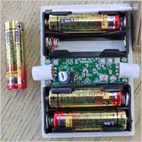 光る手すりは単三乾電池で光ります