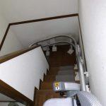 いす式階段昇降機の設置について