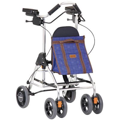 テイコブリトルRF(WAW02) 抑速機能付き後輪 歩行車【新着商品】