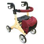 座って休める座面付き歩行補助車ストリームマルーン特別価格!