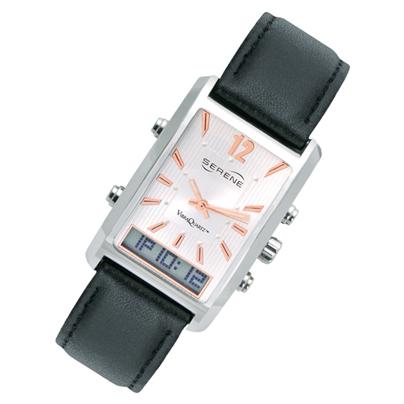 バイブラクオーツ VQ500 振動式アナログ腕時計