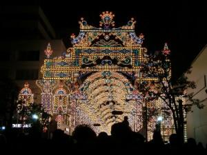 2012年の神戸ルミナリエで