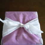 庄谷のお菓子『和心』の包み紙の様子・アップ