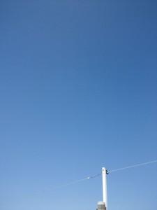 2011年9月27日11時半、箕面の秋晴れ