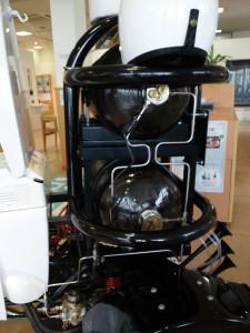 TOTOトイレバイクネオの燃料タンク。バイオガスが入っています。