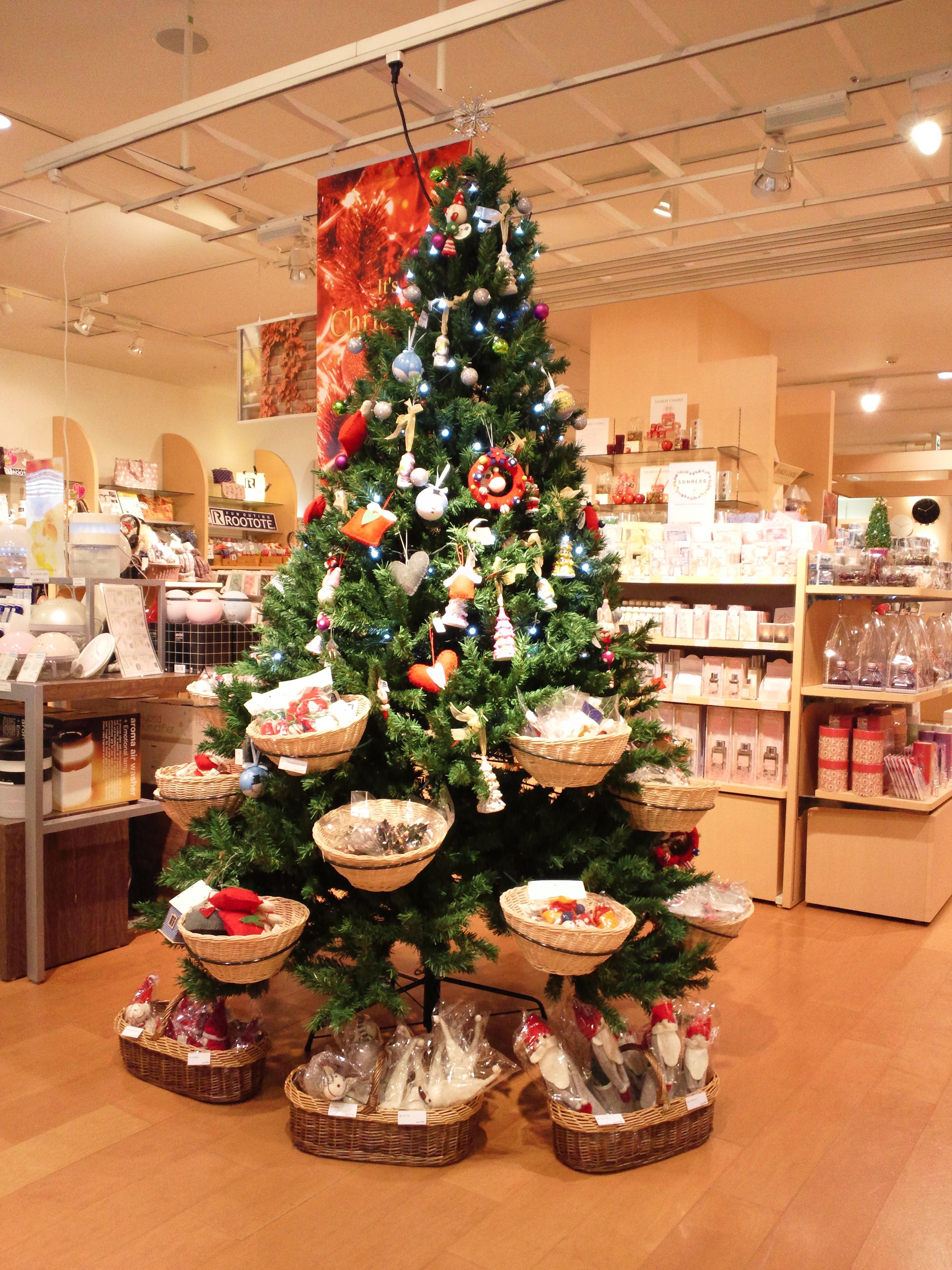 11月のクリスマスツリー