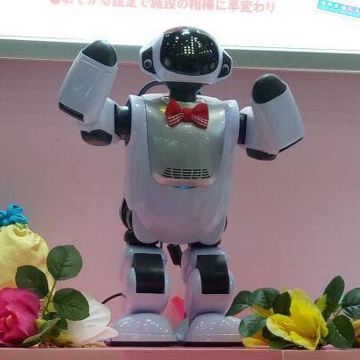 踊るコミュニケーションロボット・パルロ
