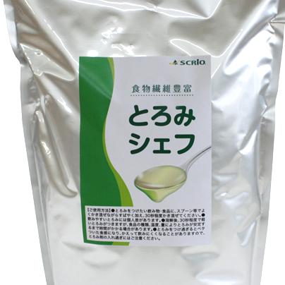 嚥下補助 トロミ調整剤 とろみシェフ 食物繊維豊富
