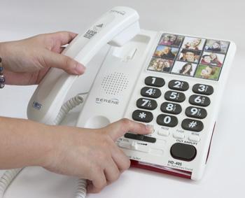 発声障害・高齢者用電話機 スピーチプラス HD40S