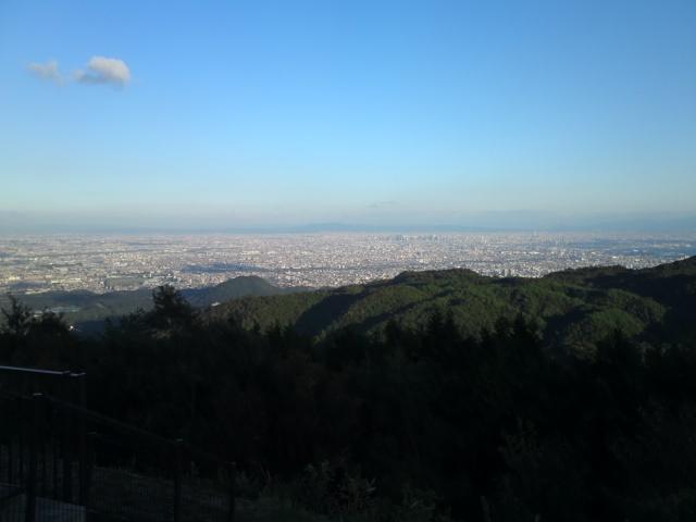 標高645mからの景色