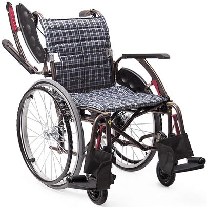 次世代型標準車椅子 自走用 WAP22-40・WAP22-42S WAVIT+(ウェイビットプラス)