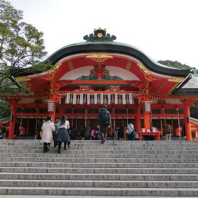 伏見稲荷大社の拝殿