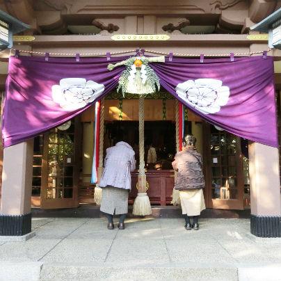 阿比太神社は車椅子利用者もお詣りできます