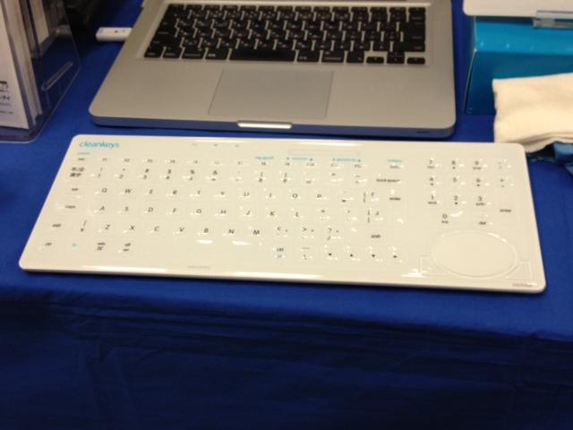 感染症対策のキーボード