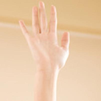 手をあげて、毎度っ