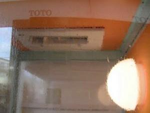 TOTOリモデルクラブ北摂店会リフォームフェアでミストカワックコンロの実演機