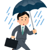 昨日に続く大雨の影響で配送に遅れ