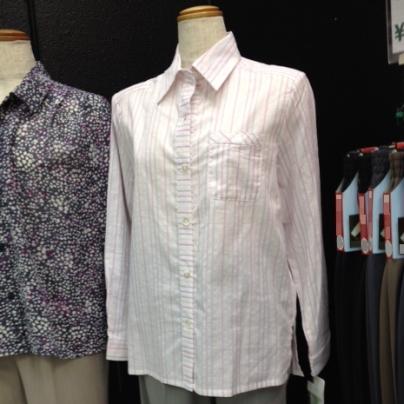 高齢者向け衣料品、2014年の春夏物ブラウス
