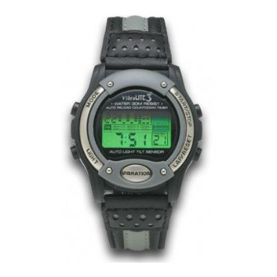 振動式デジタル腕時計
